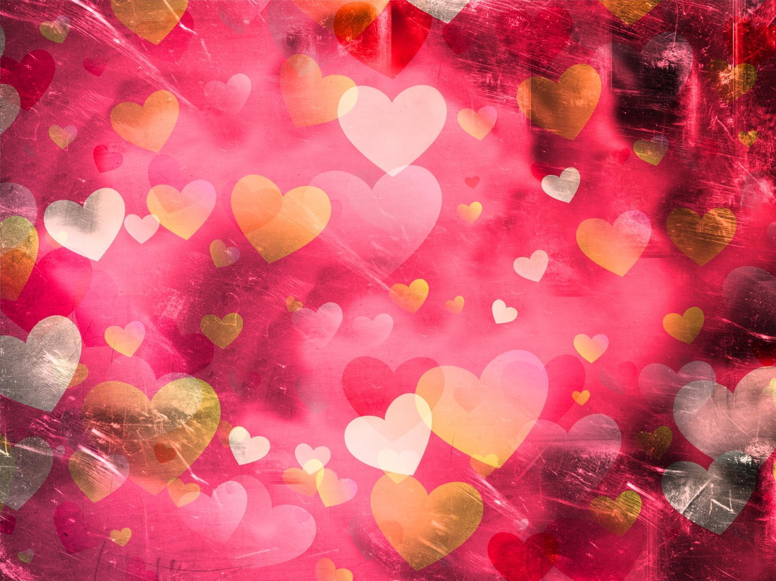 El amor Grunge-hearts-pattern