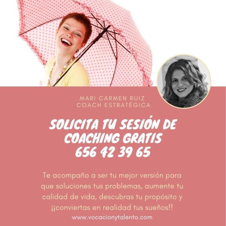 solicita tu sesión de coaching gratis